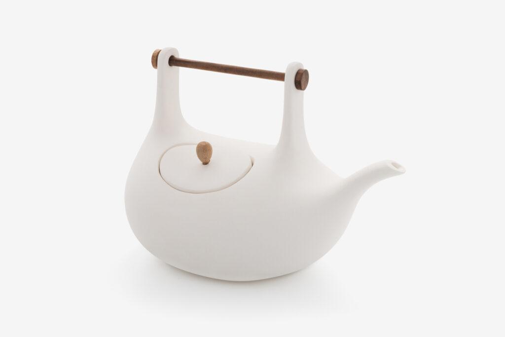 Lutz teapot, <em>White</em>